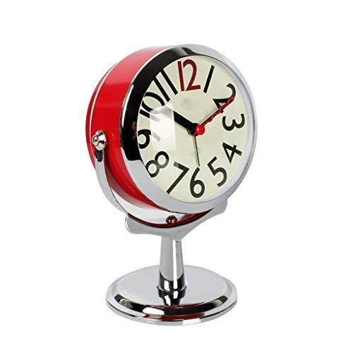 ZLBYB Reloj for niños, silencioso, sin tictac, Cuarzo de Dibujos Animados, Ruidoso Reloj de Alarma for niñas, Lindo, de Mano, retroiluminación, Funciona con Pilas (Color : A)
