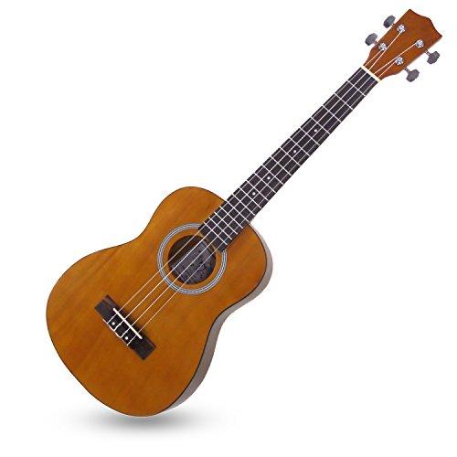 Kay BU10 Guitar Ukulele Hawaiian Koa Wood Finish, Baritone