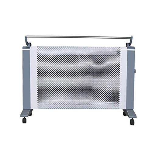 Calefactor eléctrico de cristal de carbono con temperatura Constante Inteligente una rejilla de secado rápido en 6 segundos, doble interruptor de velocidad adecuado para la cocina