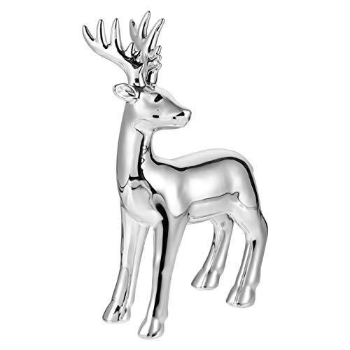 IMIKEYA Creative Stag Ornaments Craft Deer Figurine Deer Statue Desktop Decor Modern Simple Craft Ornament for Home Office