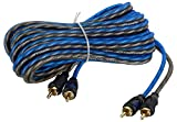 Material: Pure Copper; Color: Blue and Grey Compatibility: Compatible with Every Car Amplifier and Car Stereo List of all Items Included 1 RCA Cable - 5 meter Warranty: 12 Months Manufacturer Warranty and No warranty on burnt and physical damage Spec...