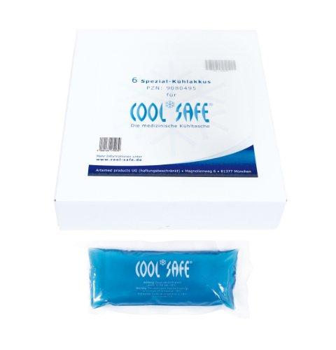 Cool Safe 9080495 Kühlakku-Set, 6 Akkus