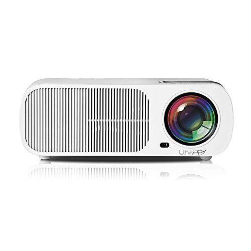 Docooler Uhappy U20 2600 Lumens Projectors Home Theater Zoom LED Mini Projectors Projecting Apparatus