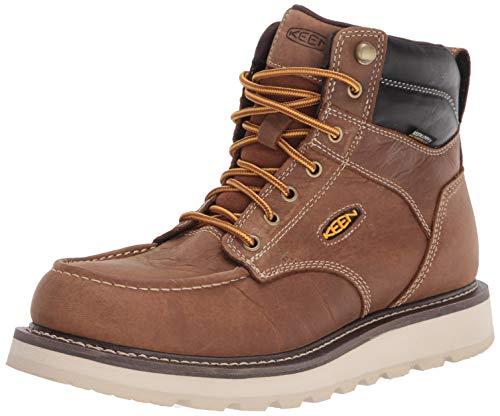 KEEN Utility Men's Cincinnati 6″ Soft Toe Waterproof Work Boot