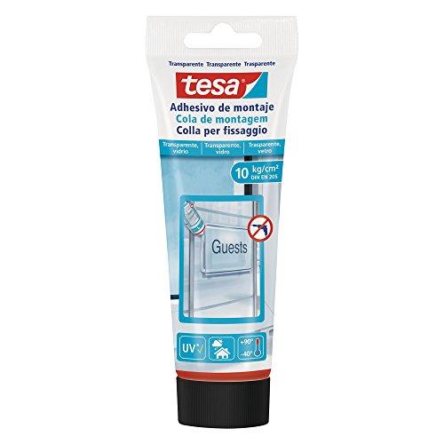 Tesa 77932-00001-00 Colla per Fissaggio per Trasparenti e Vetro 10 kg/cm2 (DIN EN 205)