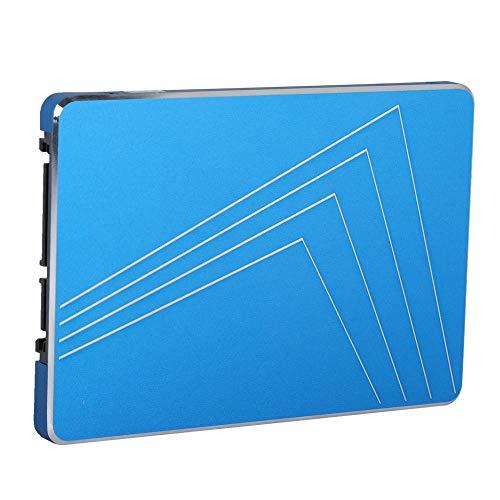 2,5-Zoll-Universal-Solid-State-Laufwerk Blau, 6 GBit/s Interne Festplatte Sichereres Datenspeicherschutzgerät für Laptop/PC, Virtuelle SLC-Cache-Festplatte für Effiziente Datenübertragung(128 GB)