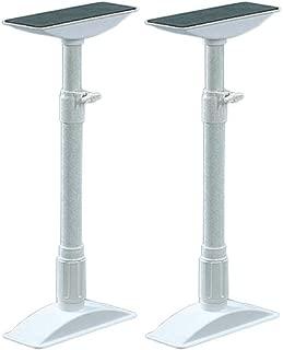 アイリスオーヤマ 防災グッズ 家具 転倒防止 伸縮棒 M 高さ40-60cm ホワイト 防災 用品 災害グッズ KTB-40 2本入
