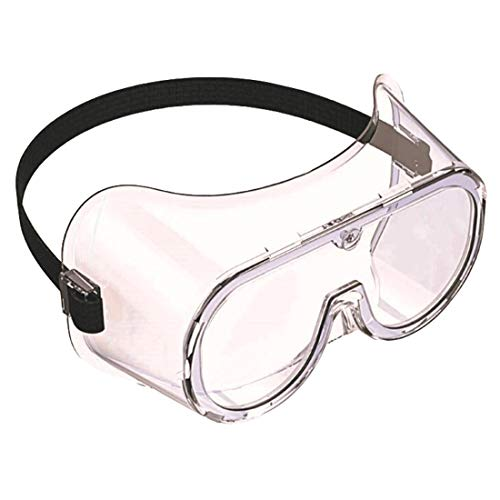 Sidiou Group Gafas protectoras de seguridad antiarañazos, antiempañamiento y antipolvo, cómodas, lentes transparentes