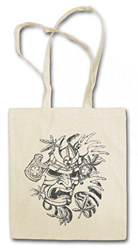 Urban Backwoods Samurai Vi Hipster Bag Beutel Stofftasche Einkaufstasche