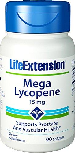 Life Extension Mega Lycopene, 15 Milligram, 90 Softgels (Pack of 3)