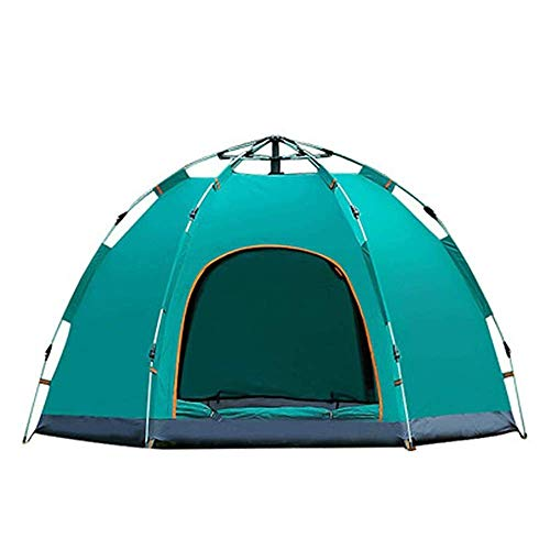 CHHD Tent for Camping Instant Pop Up Camping Tents for 3-4 Person Family, Dome Waterproof Sun Shelters Backpacking Tents Quick Set up for Camping Hiking Outdoor Activities
