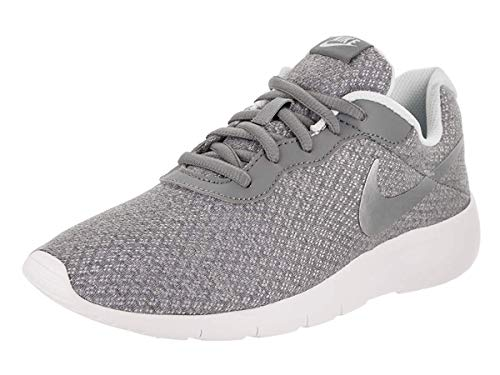 NIKE Kids Tanjun (GS) Running Shoe Cool Grey/Metallic Silver (3.5 M US Big Kid)