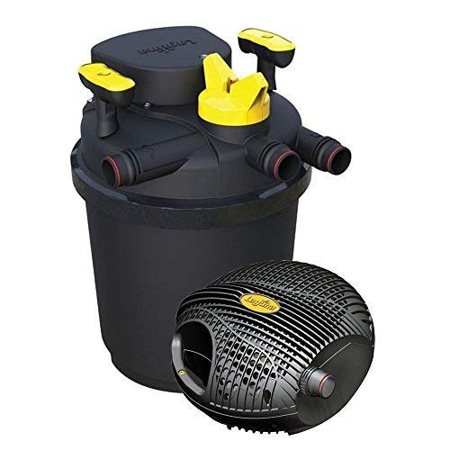 Laguna PT1730 drukfilter en krachtige pomp, zwart, geel, 34 x 32.5 x 60 cm