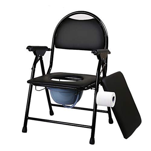 Bedside commodes toiletstoel commode stoel opvouwbare toiletstoel multifunctionele kan worden gebruikt als een aparte toiletcommode stoel