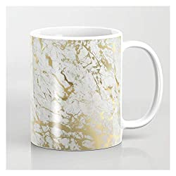 christmas gift guide with marble mug