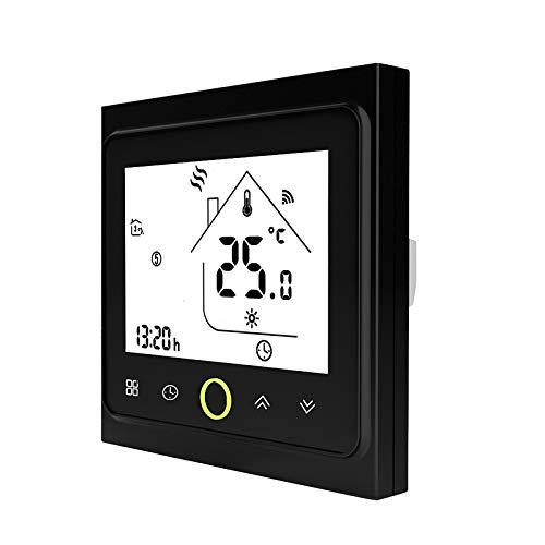 Blusea Termostato Programable WiFi 3A para calefacción Individual de calderas de Gas/Agua...