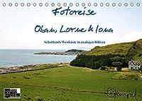 Fotoreise Oban, Iona & Lorne (Tischkalender 2022 DIN A5 quer): Schottlands schoenste Seiten in analogen Aufnahmen (Monatskalender, 14 Seiten )