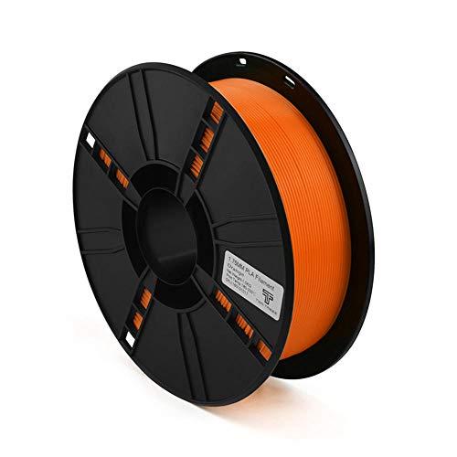 3D Printer Filament 1kg, PLA Filament 1.75mm, Used for 3d Printer and 3d Pen-Orange