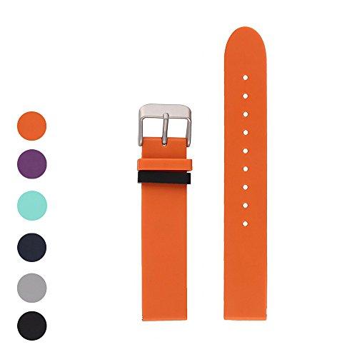 iFeeker Ersatz Weiche Silikon Uhrenarmband für Withings Activite Steel / Withings Activite Pop