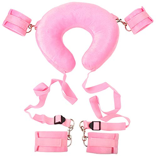 M Adult Yoga Gift With Plush Toy Auxiliary Paddle {Pink}