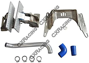 LS1 Engine T56 Transmission Mounts Radiator Hard Pipe Kit For BMW E46 LS Swap