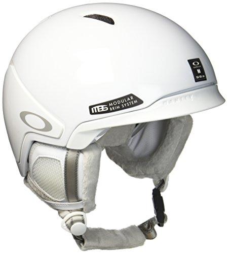 Oakley MOD3 Ski Helm, Polished White, S