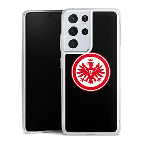 DeinDesign Handyhülle kompatibel mit Samsung Galaxy S21 Ultra 5G Bumper Hülle Schutzhülle Eintracht Frankfurt SGE Adler