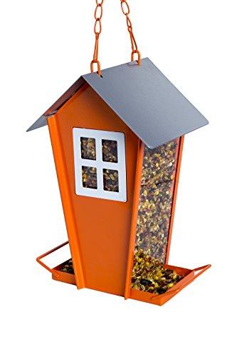 Scheune geformt Vogelhäuschen Prime Futterhaus, mehr Wildvögel, um Ihr Haus und Outdoor Garten für alle Samen, Erdnüsse und Fruits Art ermöglicht große