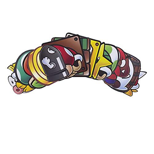 Paladone Super Mario Fun Fact Coasters, Set di 20 sottobicchieri con licenza ufficiale Nintendo Merchandise, multicolore, taglia unica, PP8051NN