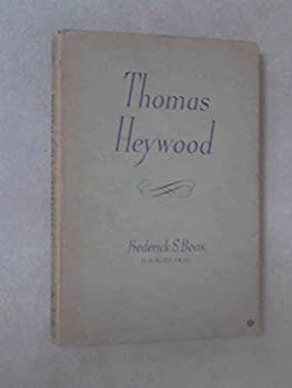 Hardcover Thomas Heywood Book