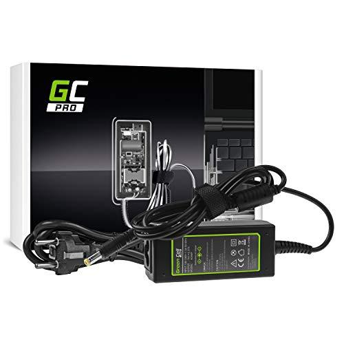 GC Pro Cargador para Portátil Acer Aspire E5-511 E5-521 E5-573 E5-573G ES1-131 ES1-512 ES1-531 V5-171 Ordenador Adaptador de Corriente (19V 2.37A 45W)