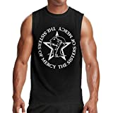 Welikee Camiseta, Manga Corta, The Sisters of Mercy Athletic Men's Cool Sleeveless T-Shirt