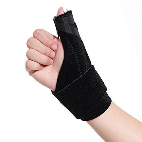 Zlw-shop Schweißbänder Daumen Fest Schutz Wrist Sehnenscheide Verstauchung Schmerzen Maus Hand (Single) Sportarmschienen