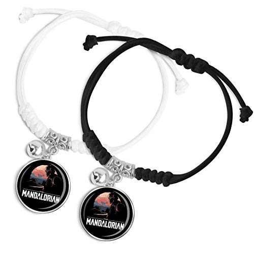 Yoda Valentine's day gifts for boys and girls Couple bracelets Bells Classic hand ropes Modern textures Daily wear Fashion accessories between couples