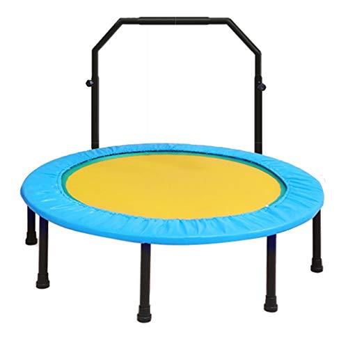Mini Trampoline - Met armleuningen - Home Sports Equipment - Trampoline voor volwassenen en kinderen - Draagbare trampoline - Maximale belasting 150kg