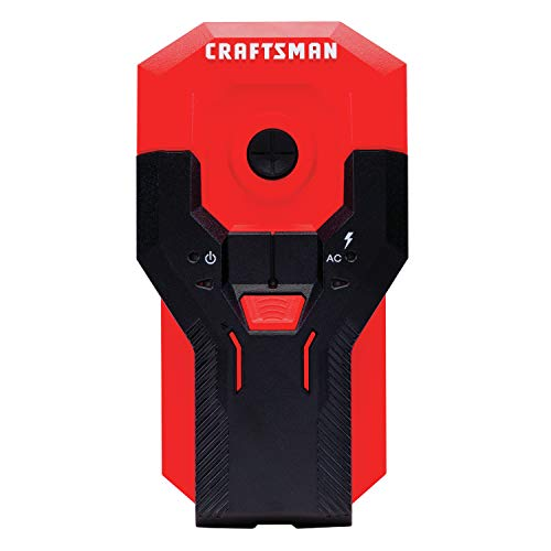 CRAFTSMAN Stud Finder 11/2Inch Depth AC Detection CMHT77621
