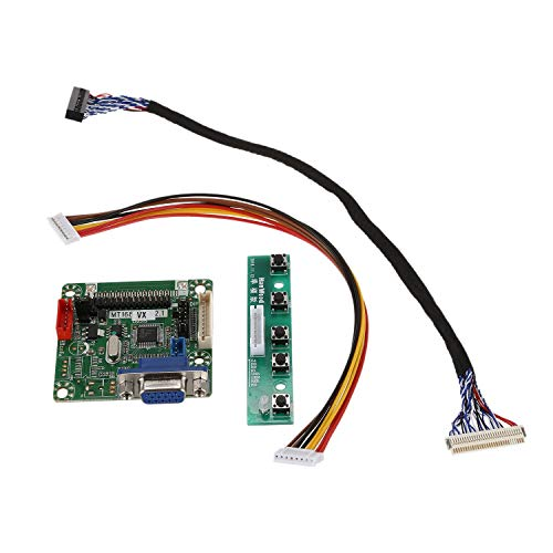 TOOGOO Mt561-B Universal Lvds Lcd Monitor de Pantalla Controlador Controlador Controlador 5V 10 Pulgadas-42 Pulgadas Ordenador Portátil Partes Diy Kit