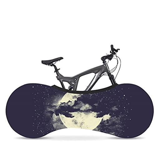 Protector de Bicicletas Cubierta MTB Bicicleta de Carretera 26-29in Protectores A Prueba de rasguños Evitar Ruedas Marco Mountain Bolsa de Almacenamiento Accesorios,C,160 * 55cm