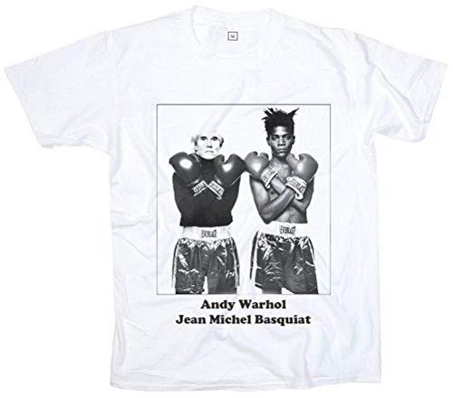 New Andy Warhol Jean Michel Basquiat Boxing Punk Men Woman T-Shirt S M L XL