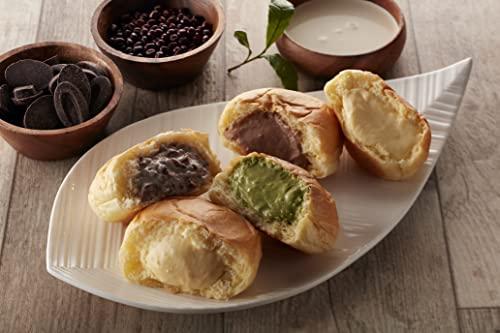 広島 「八天堂」 プレミアムフローズンくりーむパン・デニッシュリンゴ 12個詰合せ