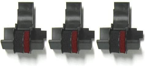 (3 Pack) Calculator Ink Roller Replaces Casio IR40T, Canon CP13, Sharp EA772R, NuKote NR42, Porelon PR42, Victor, Adler-Royal, Aurora, Citizen, OLIVETTI, Texas Instruments