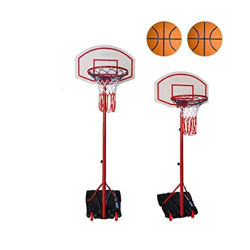 Purchase YONGMEI Basketball Rack Indoor and Outdoor Home Can Lift Adult Children's Basket Floor-Stan...