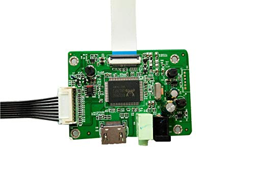 NJYTouch eDP HDMI LCD Controller Board for 17.3inch LP173WF4-SPD1 LP173WF4-SPF1 1920x1080 30Pin LED Screen