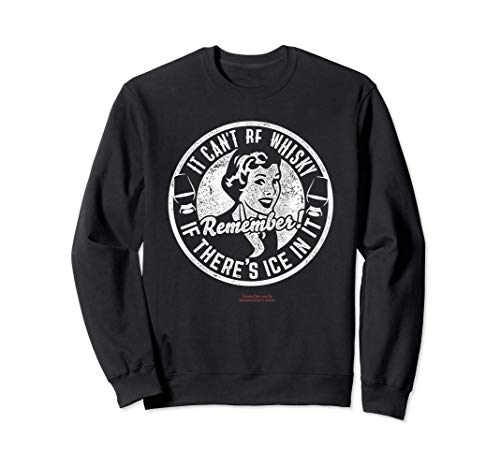 Whiskey Design Ice & Whisky - The Original Whisky Sudadera