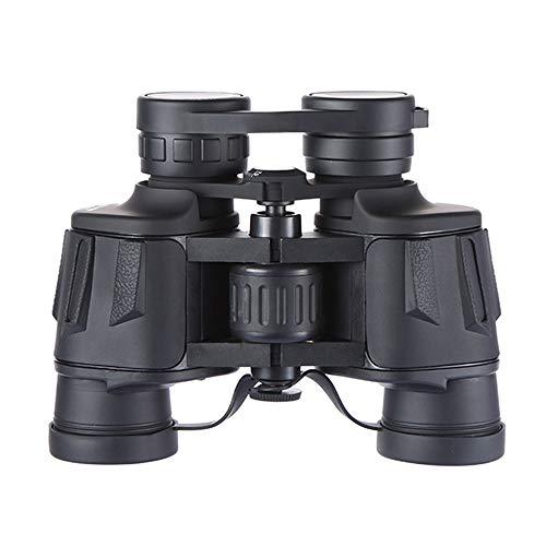DKEE 8x40 Fernglas HD Hohe Vergrößerung Schwarz Großes Okular Weitwinkelbeschichtung Tragbares Kompaktteleskop 48mm Objektiv