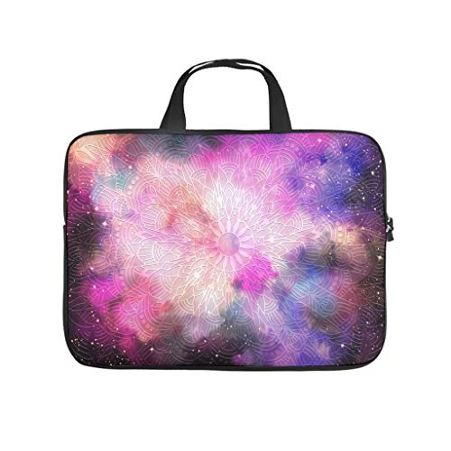 Laptop bag pink wear-resistant fashionable - laptop bag compatible with 13 - 15.6 inches.
