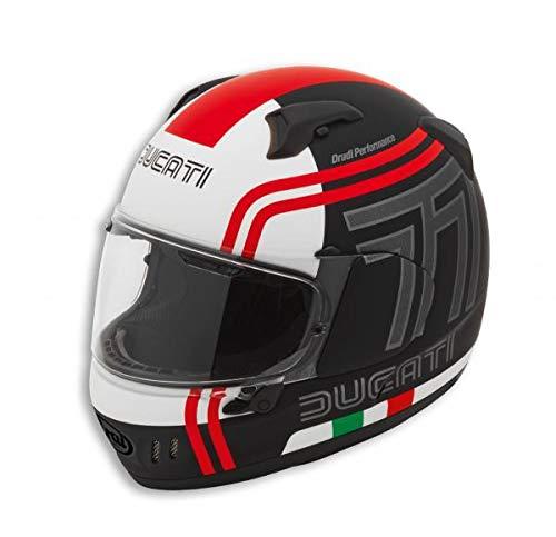 Ducati Arai Renegade V 77 Integralhelm schwarz rot weiß Größe S