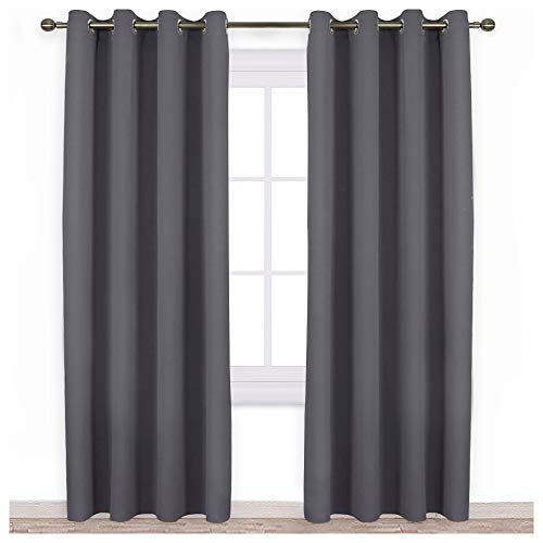 NICETOWN Blackout Curtains Panels for Bedroom - 3 Pass Microfiber...