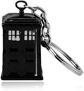 CLEARNICE Llavero Doctor Who 3D Policía Caja Cupreous ...