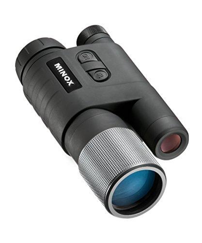 MINOX NV 351 Nachtsichtgerät – Jagd-Nachtsichtgerät für zuverlässiges Beobachten in der Nacht & bei Dunkelheit – Inkl. Tasche & Batterien